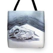 Still Life Drawing Cow Skull 02 Tote Bag