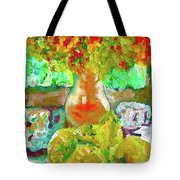 Still Life Flower Tote Bag