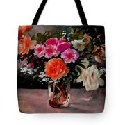 Still-life For Anne Catus 1 No. 1 H A Tote Bag