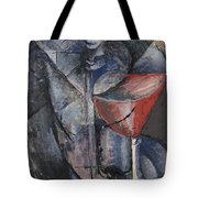 Still Life  Glass And Siphon Tote Bag