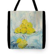 Still Life - Lemons Tote Bag