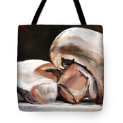 Still Life Mushrooms Tote Bag