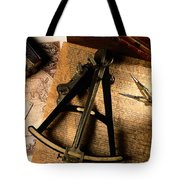 Still Life Of Charts, Books Tote Bag