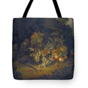 Still Life Of Fruit With A Monkey Tote Bag