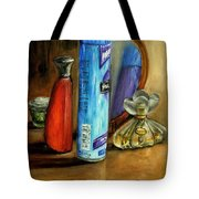 Still Life Oil Painting Tote Bag
