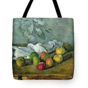 Still Life Tote Bag by Paul Cezanne