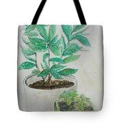 Still Life Plants Tote Bag