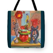 Still Life Reconstructed Tote Bag