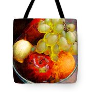 Still Life Tiles Tote Bag