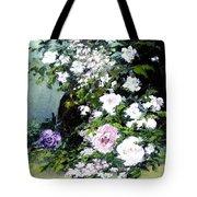 Still Life W/flowers Tote Bag