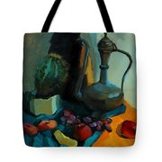 Still Life With A Cactus Tote Bag
