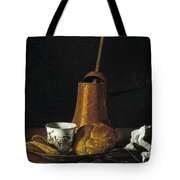 Still Life With A Chocolate Service Tote Bag