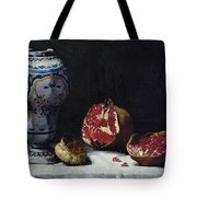 Still Life With A Pomegranate Tote Bag