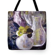 Still Life With A Yellow Flower Tote Bag
