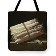 Still Life With Asparagus Tote Bag