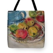 Still Life With Blue Teapot 2 Tote Bag