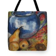 Still Life With Blue Teapot One Tote Bag