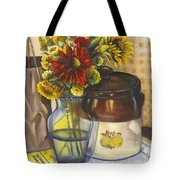 Still Life With Brown Paper Sack Tote Bag