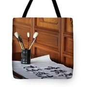Still Life With Brushes Tote Bag