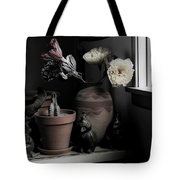 Still Life With Cactus Tote Bag