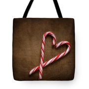 Still Life With Candy Canes Tote Bag