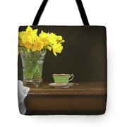 Still Life With Daffodils Tote Bag