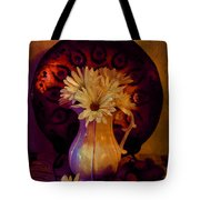 Still Life With Daisies And Grapes - Oil Painting Edition Tote Bag
