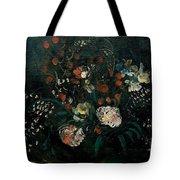 Still Life With Flowers Boris Grigoriev Tote Bag