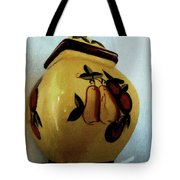Still Life With Fruited Pottery Tote Bag