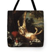 Still Life With Game Tote Bag