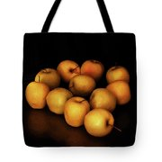 Still Life With Golden Apples Tote Bag
