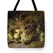 Still-life With Grapes And Pears Tote Bag