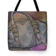Still Life With Handbag And Notepad Tote Bag