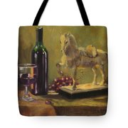 Still Life With Horse Tote Bag