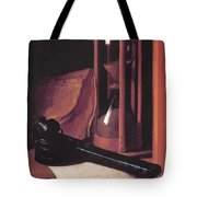 Still Life With Hourglass Pencase And Print Tote Bag