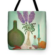 Still Life With Lilac Tote Bag