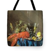 Still Life With Lobster 1655 Tote Bag