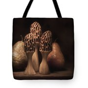 Still Life With Mushrooms And Pears I Tote Bag by Tom Mc Nemar