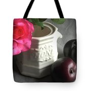 Still Life With Plums Tote Bag