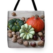 Still Life With Products Of Autumn Tote Bag
