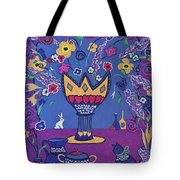 Still Life With Rabbit Tote Bag