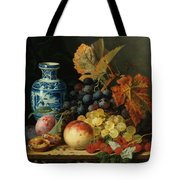 Still Life With Rasberries Tote Bag