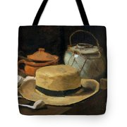 Still Life With Straw Hat, By Vincent Van Gogh, 1881, Kroller-mu Tote Bag