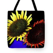 Still Life With Summer Flowers #1. Tote Bag