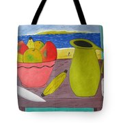 Still Life With Sunsed Tote Bag