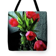 Still Life With Tulips Tote Bag