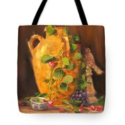 Still Life With Urn Tote Bag