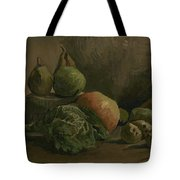 Still Life With Vegetables And Fruit Nuenen, Autumn 1884 Vincent Van Gogh 1853  1890 Tote Bag
