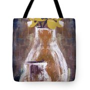 Still Life With Yellow Flowers Tote Bag