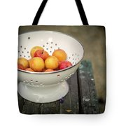 Still Life With Yellow Plums  Tote Bag